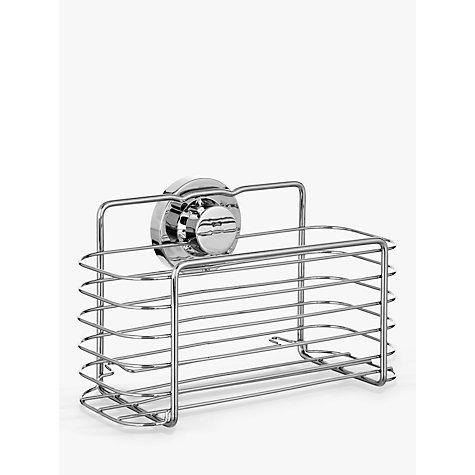 Buy Bliss Lock N Roll Rectangular Suction Shower Basket John Lewis
