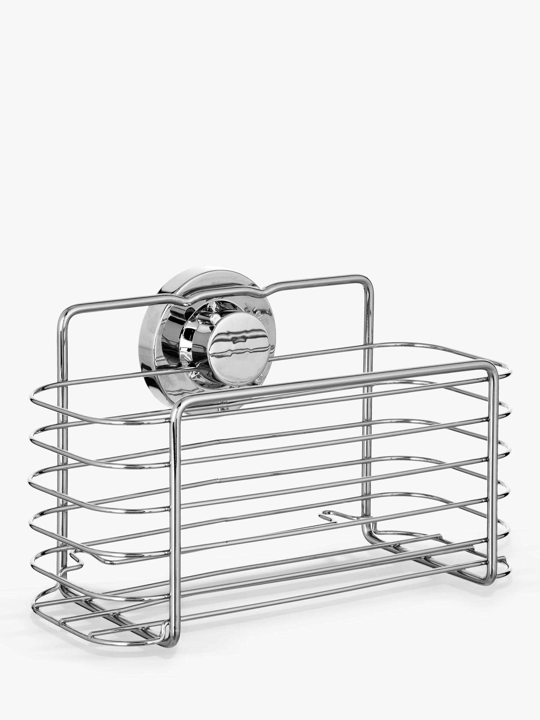 Bliss Bliss Lock N Roll Rectangular Suction Shower Basket