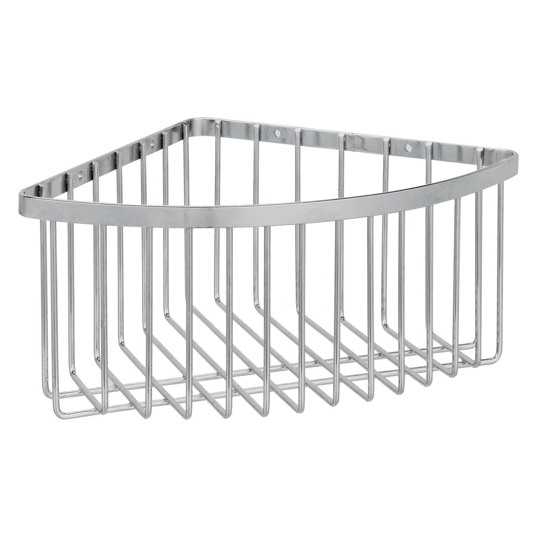 Buyjohn Lewis Stainless Steel Deep Shower Corner Basket Online At