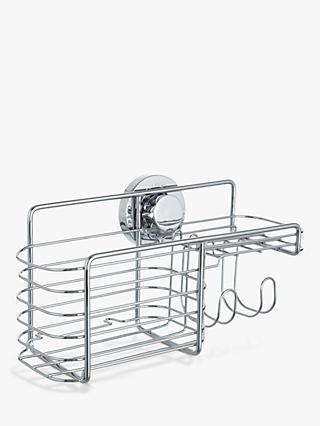 BlissHome Lock N Roll Combination Suction Shower Basket