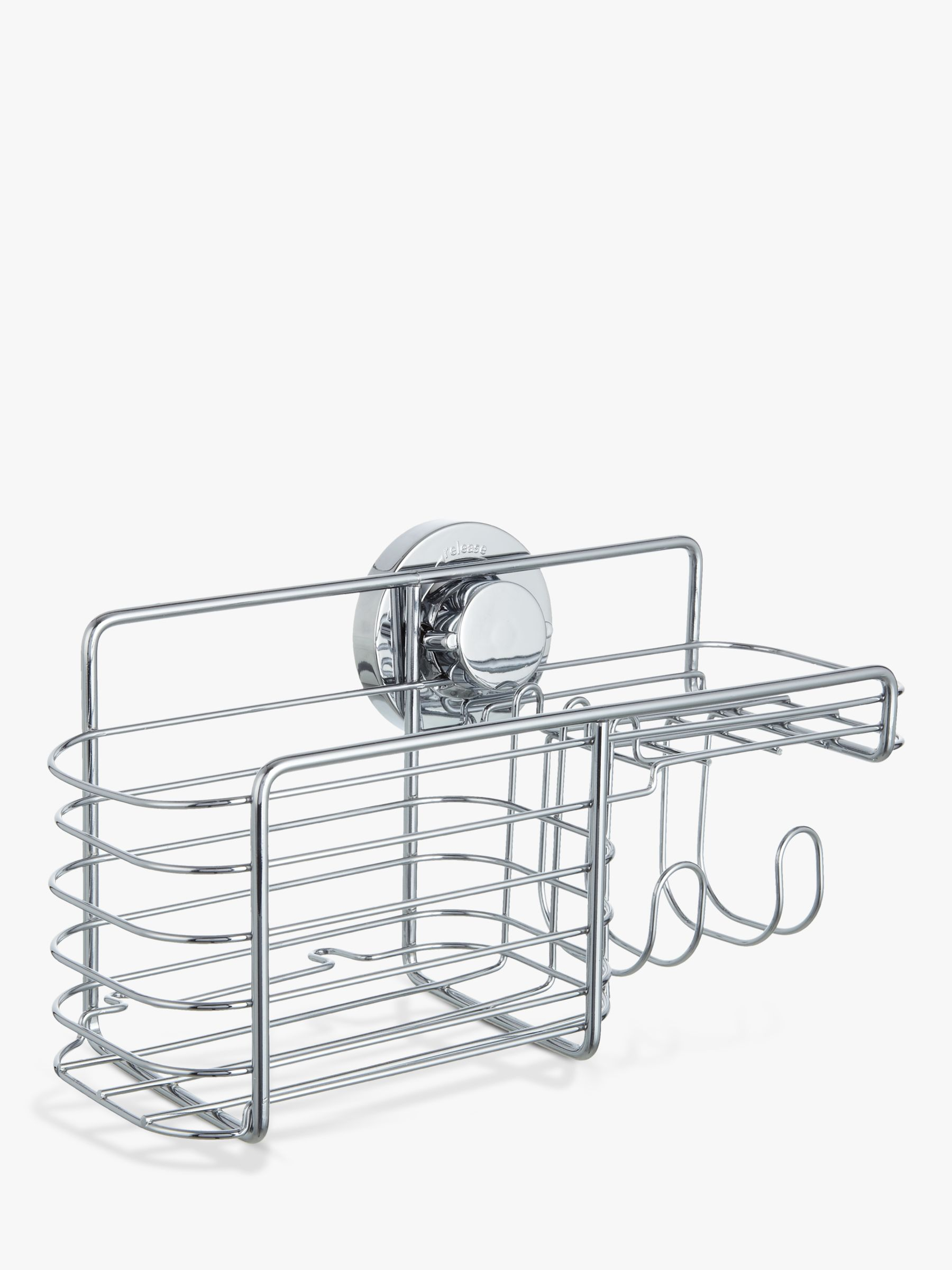 Bliss Bliss Lock N Roll Combination Suction Shower Basket