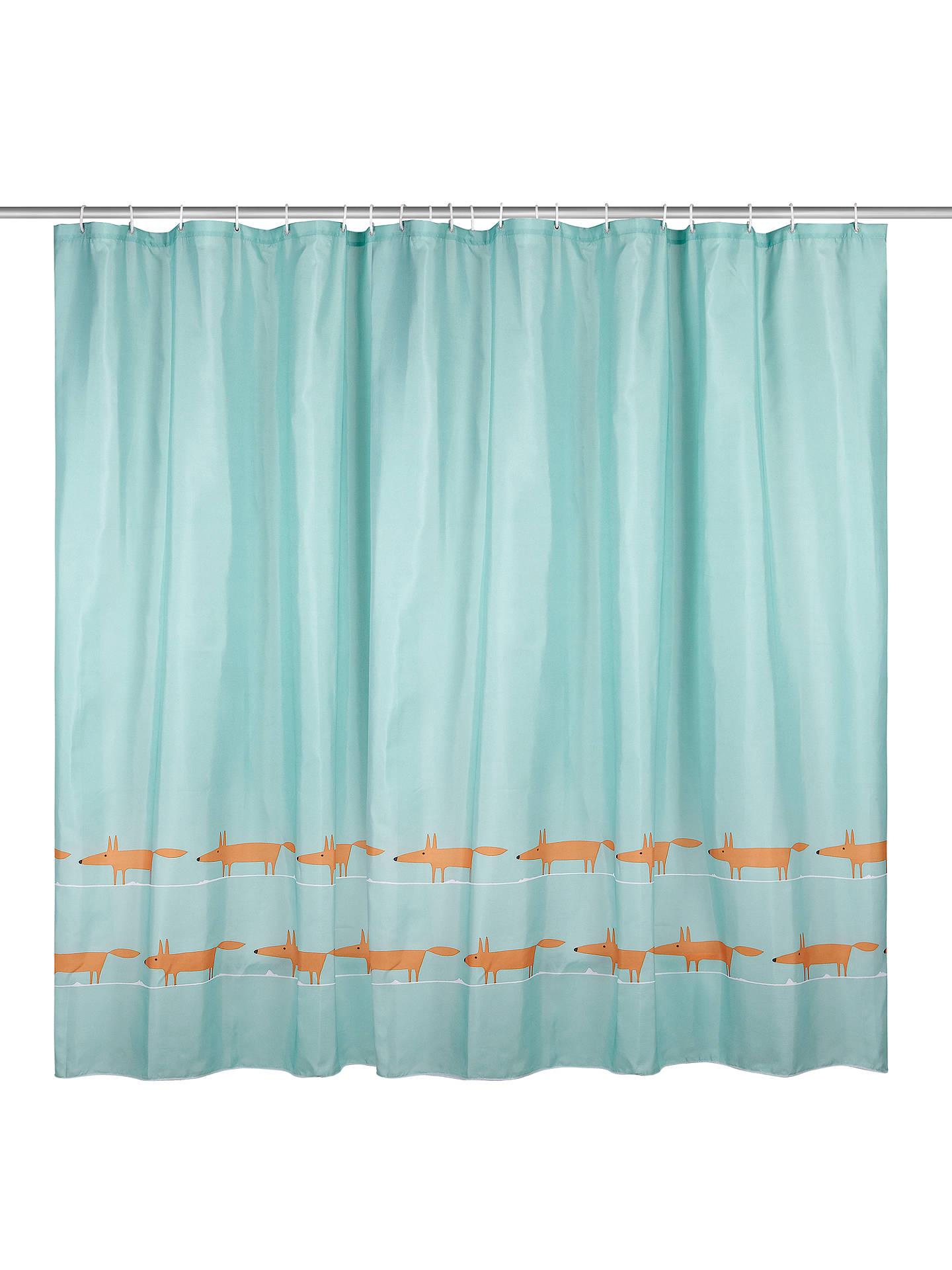 BuyScion Mr Fox Shower Curtain Online At Johnlewis