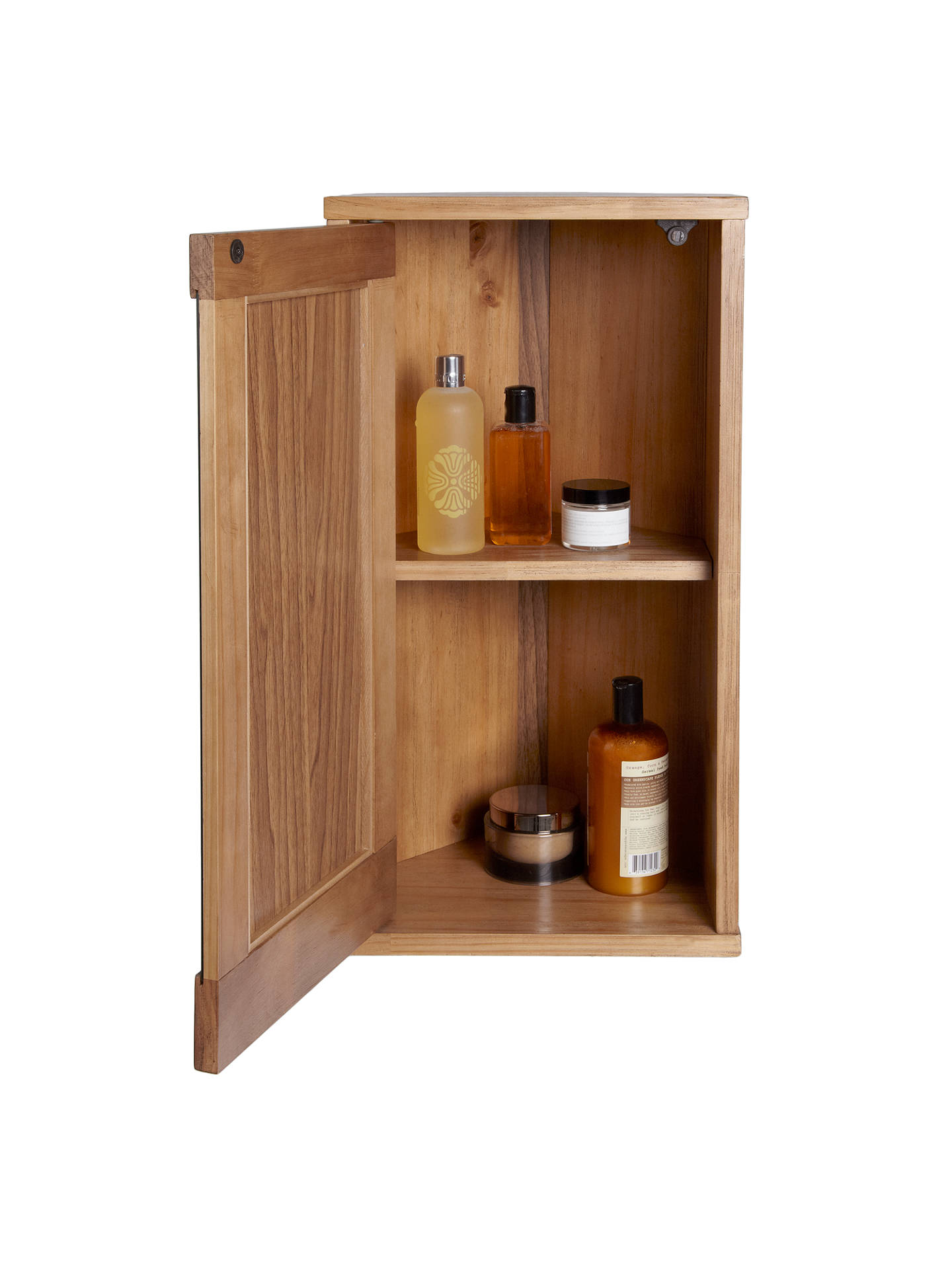 John Lewis Cayman Corner Bathroom Wall Cabinet At John Lewis Partners