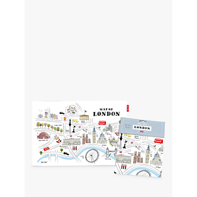 Alice Tait Map of London Tea Towel