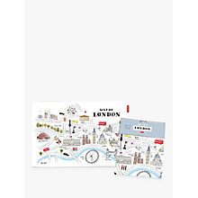 Buy Alice Tait Map of London Tea Towel Online at johnlewis.com
