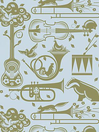 Mini Moderns Pet Sounds Wallpaper