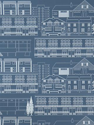 "Mini Moderns ""Do You Live In A Town?"" Wallpaper"