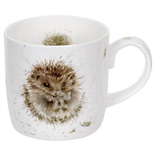 Buy Royal Worcester Wrendale Hedgehog Mug Online at johnlewis.com