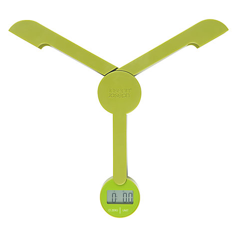 Buy Joseph Joseph Foldable TriScale, Green Online at johnlewis.com