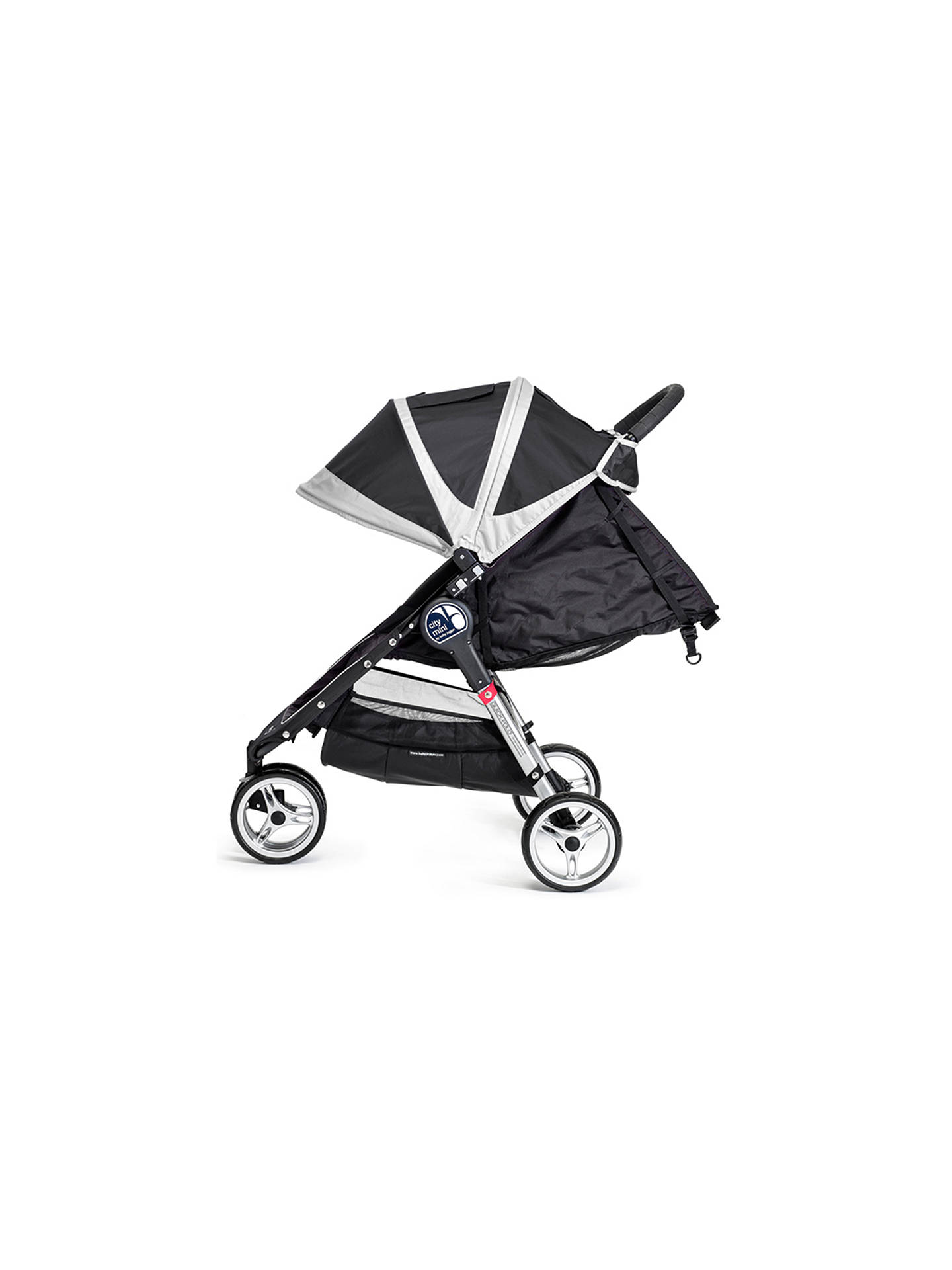 Baby Jogger City Mini 3 Wheel Pushchair Black Grey