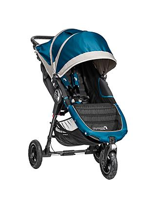Baby Jogger City Mini GT Pushchair, Teal/Grey