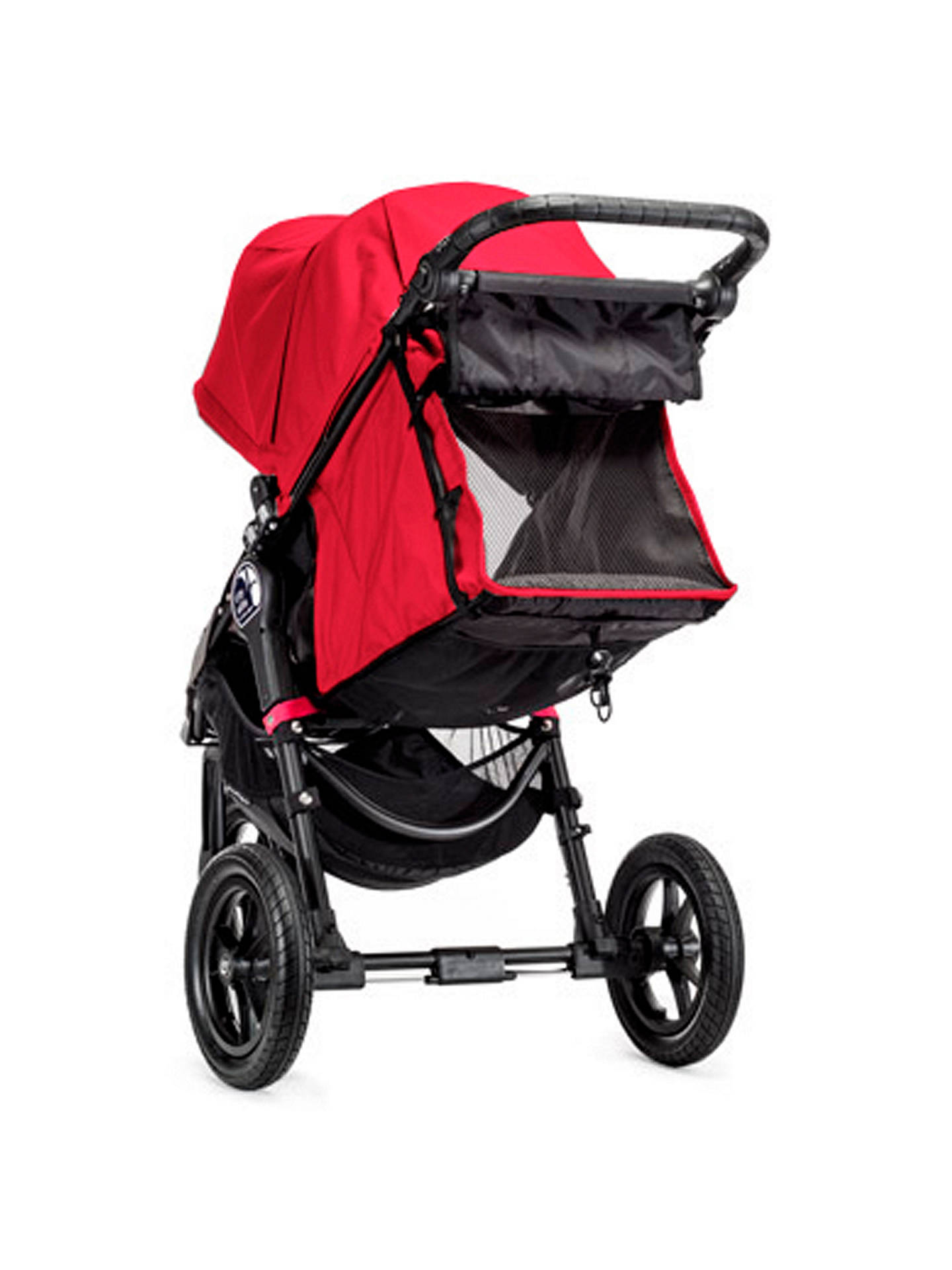 BuyBaby Jogger City Elite Pushchair, Red Online at johnlewis.com