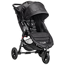 Buy Baby Jogger City Mini GT Pushchair, Black Online at johnlewis.com