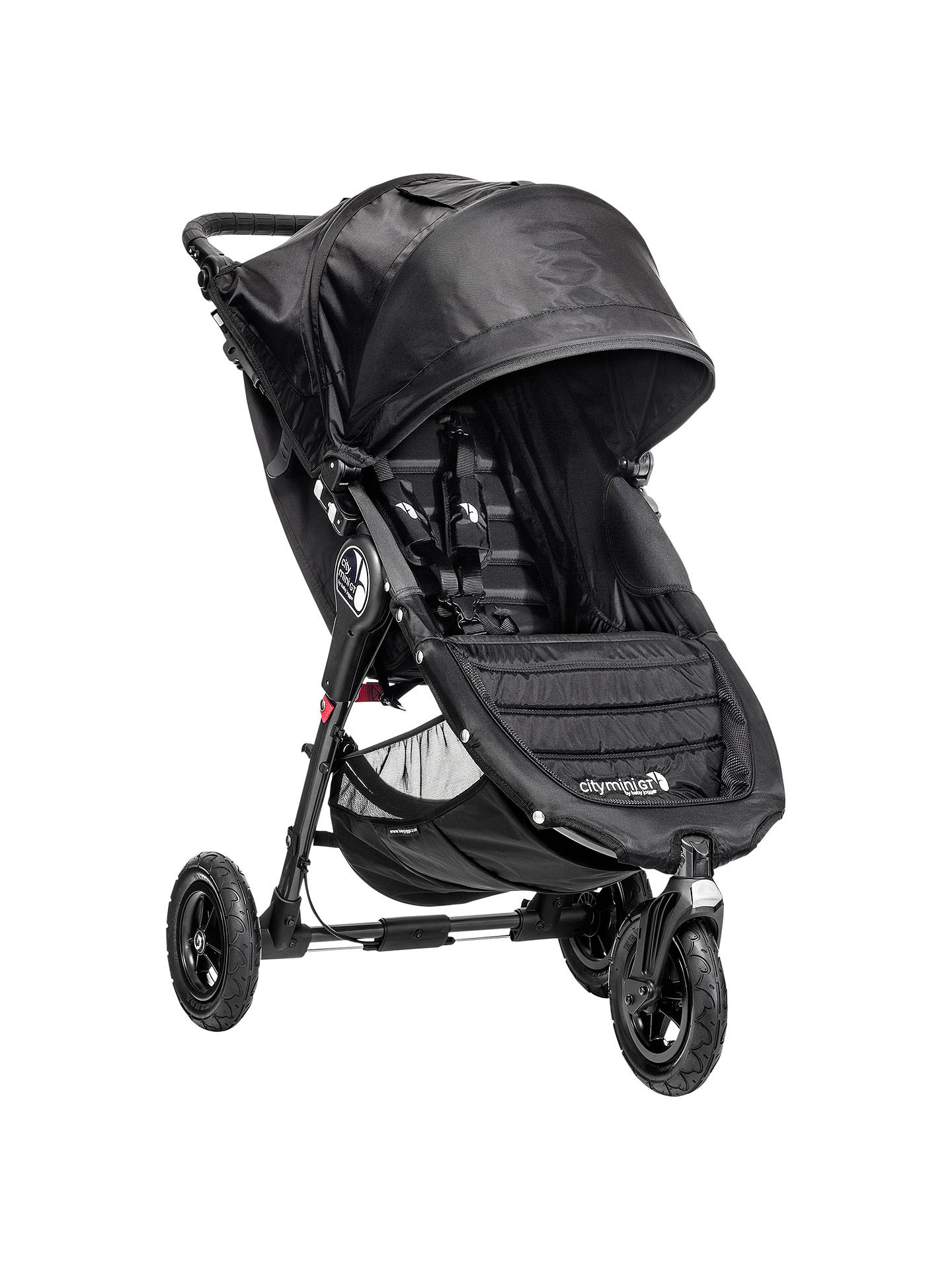 Baby Jogger City Mini Gt Pushchair Black At John Lewis