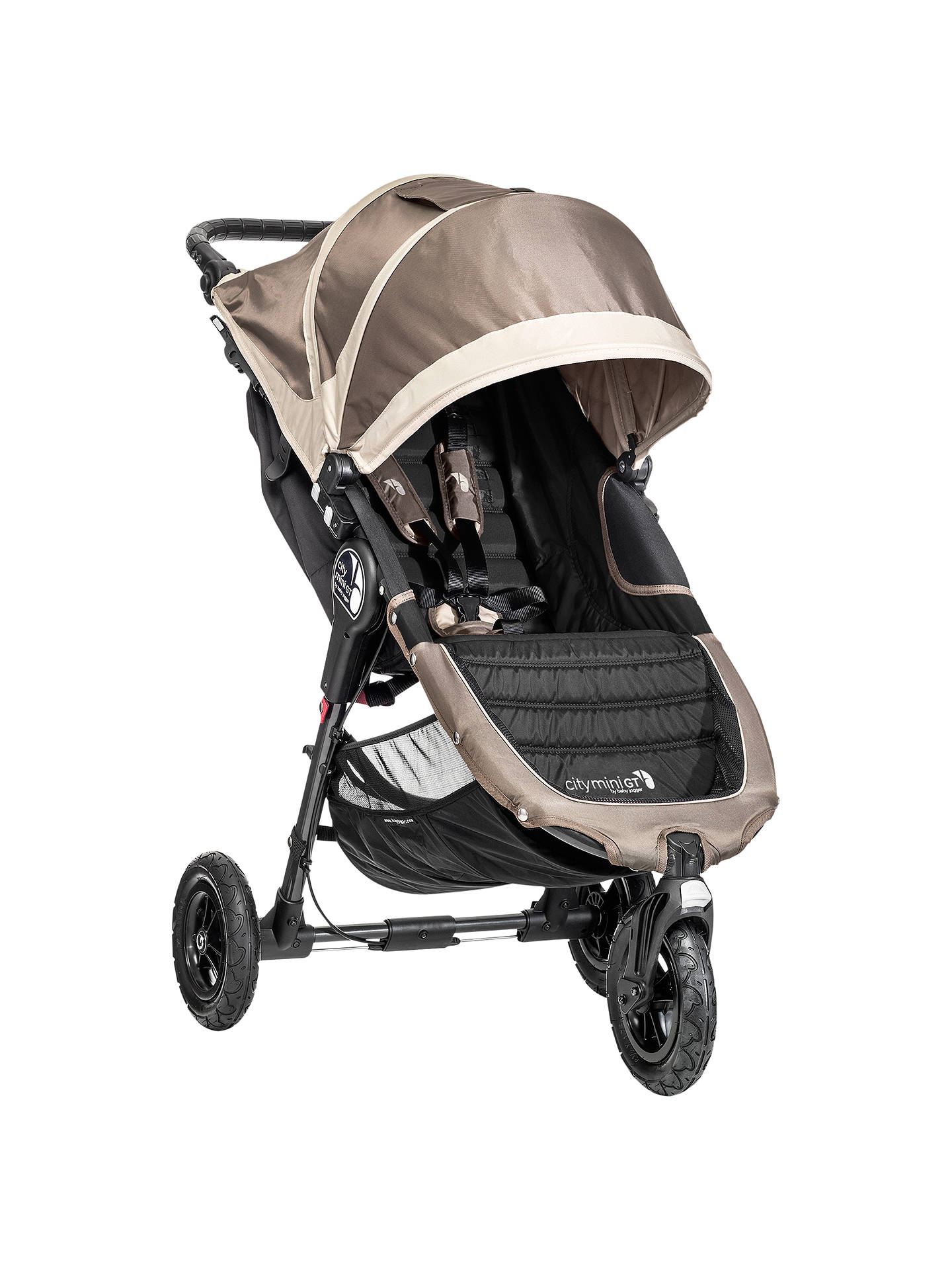 Baby Jogger City Mini Gt Pushchair Sand Stone At John Lewis Partners