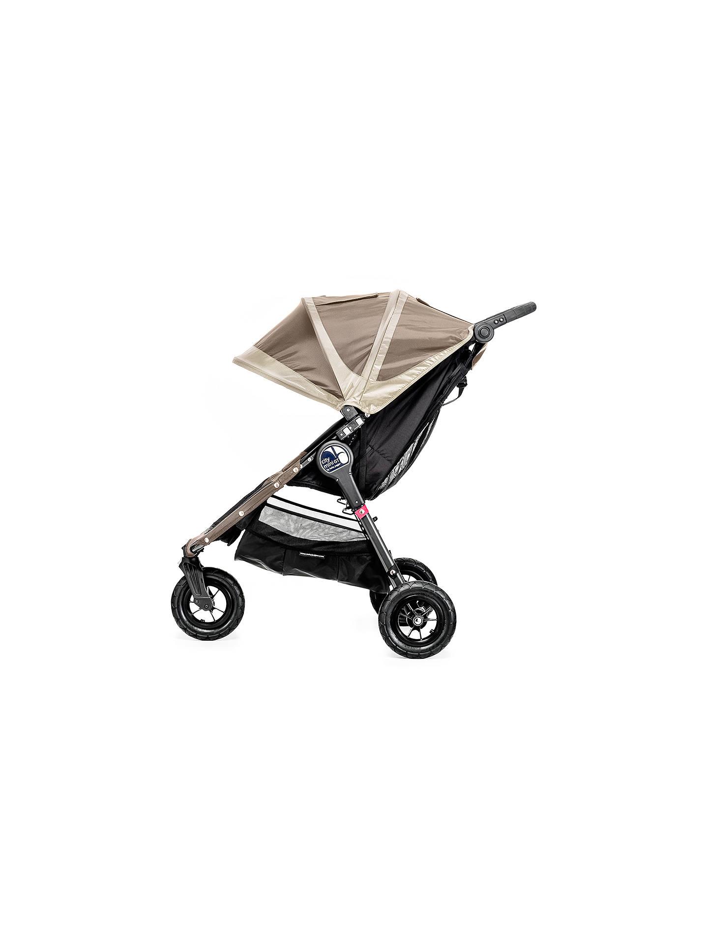 Baby Jogger City Mini GT Pushchair, Sand/Stone at John Lewis