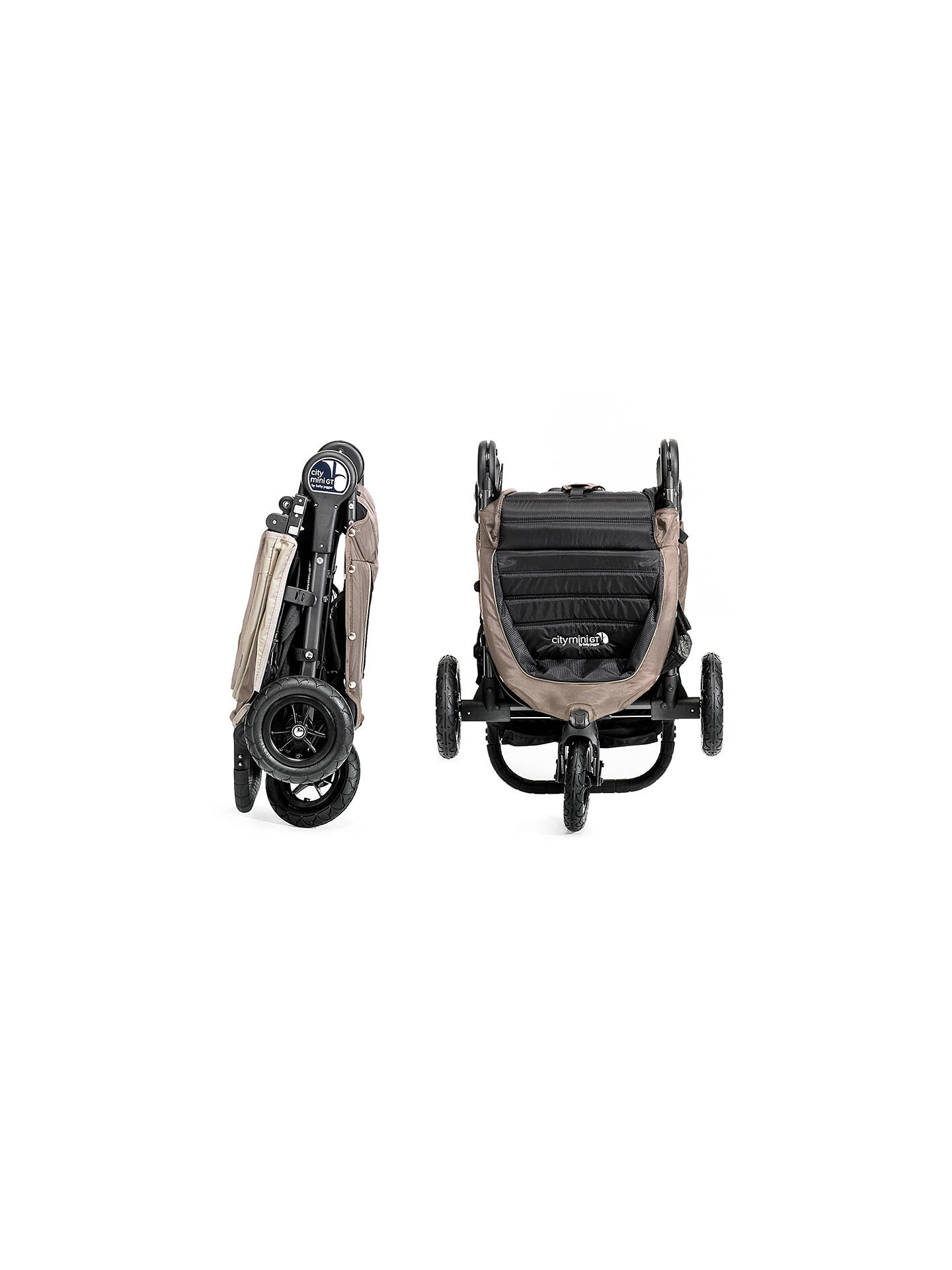 Baby Jogger City Mini Gt Pushchair Sand Stone At John