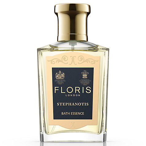 Buy Floris Stephanotis Bath Essence, 50ml Online at johnlewis.com