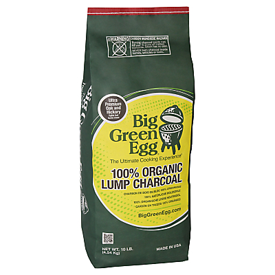 Big Green Egg Organic Lump Charcoal, 4.5kg