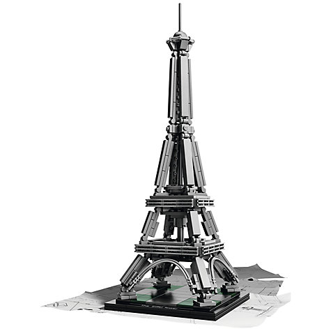 Buy LEGO Architecture 21019 Eiffel Tower Online at johnlewis.com