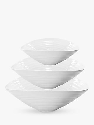Sophie Conran for Portmeirion Salad Bowl, Set of 3