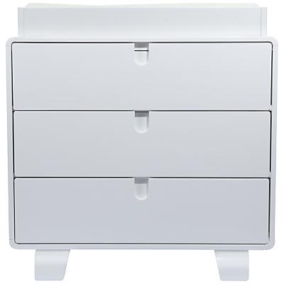 bloom Retro Dresser, Coconut White