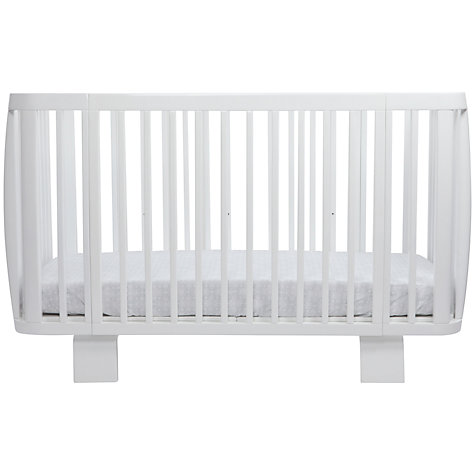Buy bloom Retro Cotbed, Coconut White Online at johnlewis.com