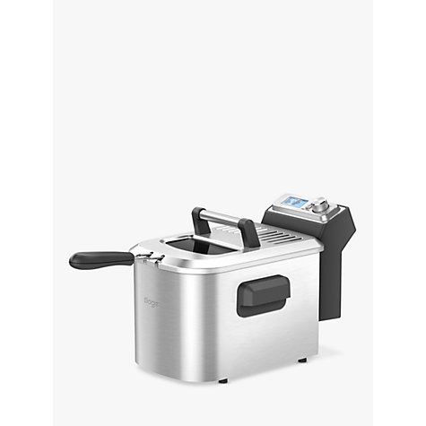 Buy Sage by Heston Blumenthal the Smart Fryer™, Silver Online at johnlewis.com