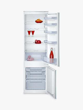 Neff K8524X8GB Integrated 70/30 Fridge Freezer, Sliding Door Hinge, A+ Energy Rating, 56cm Wide