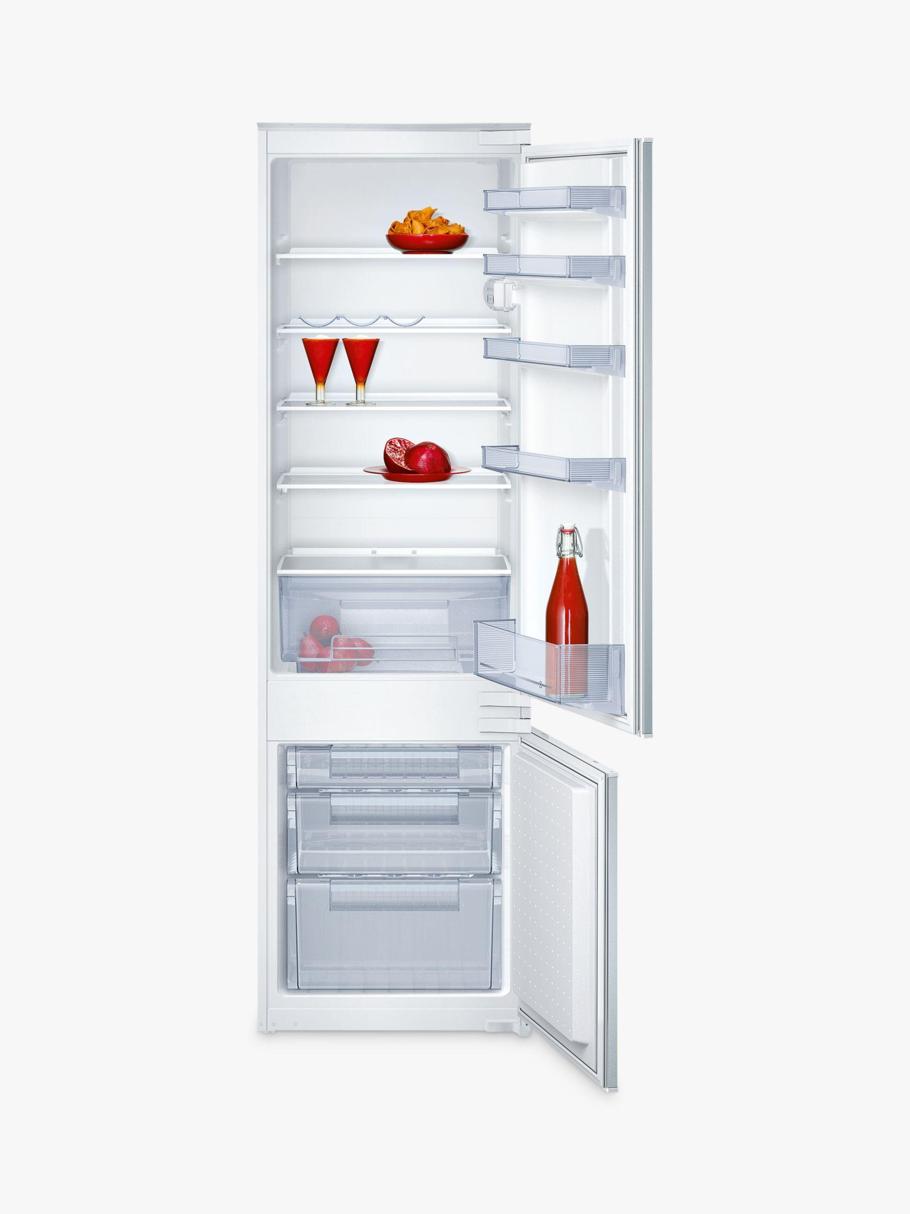 NEFF Neff K8524X8GB Integrated Fridge Freezer, A+ Energy Rating, 56cm Wide