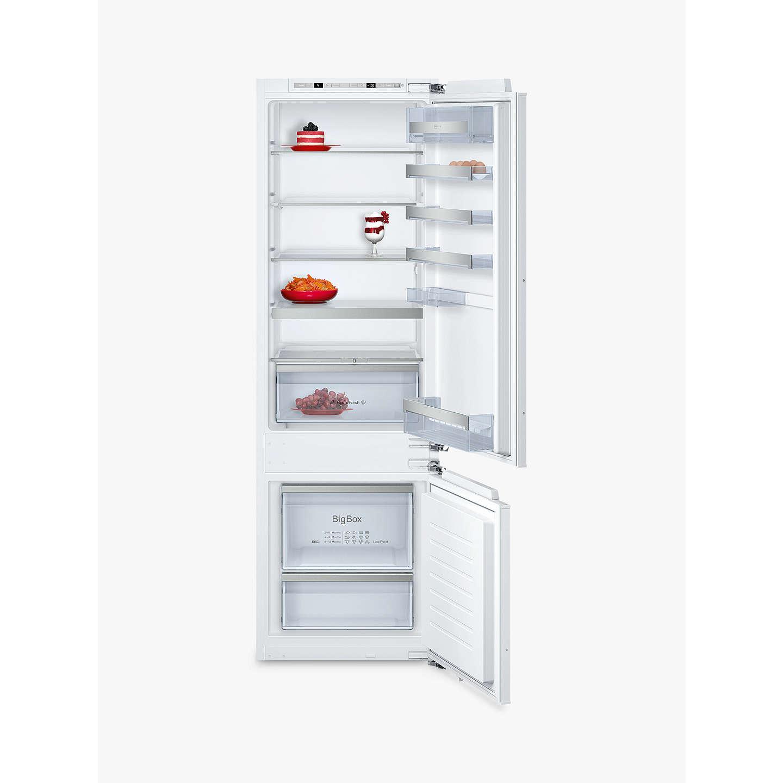 neff ki6873f30g integrated fridge freezer a energy. Black Bedroom Furniture Sets. Home Design Ideas