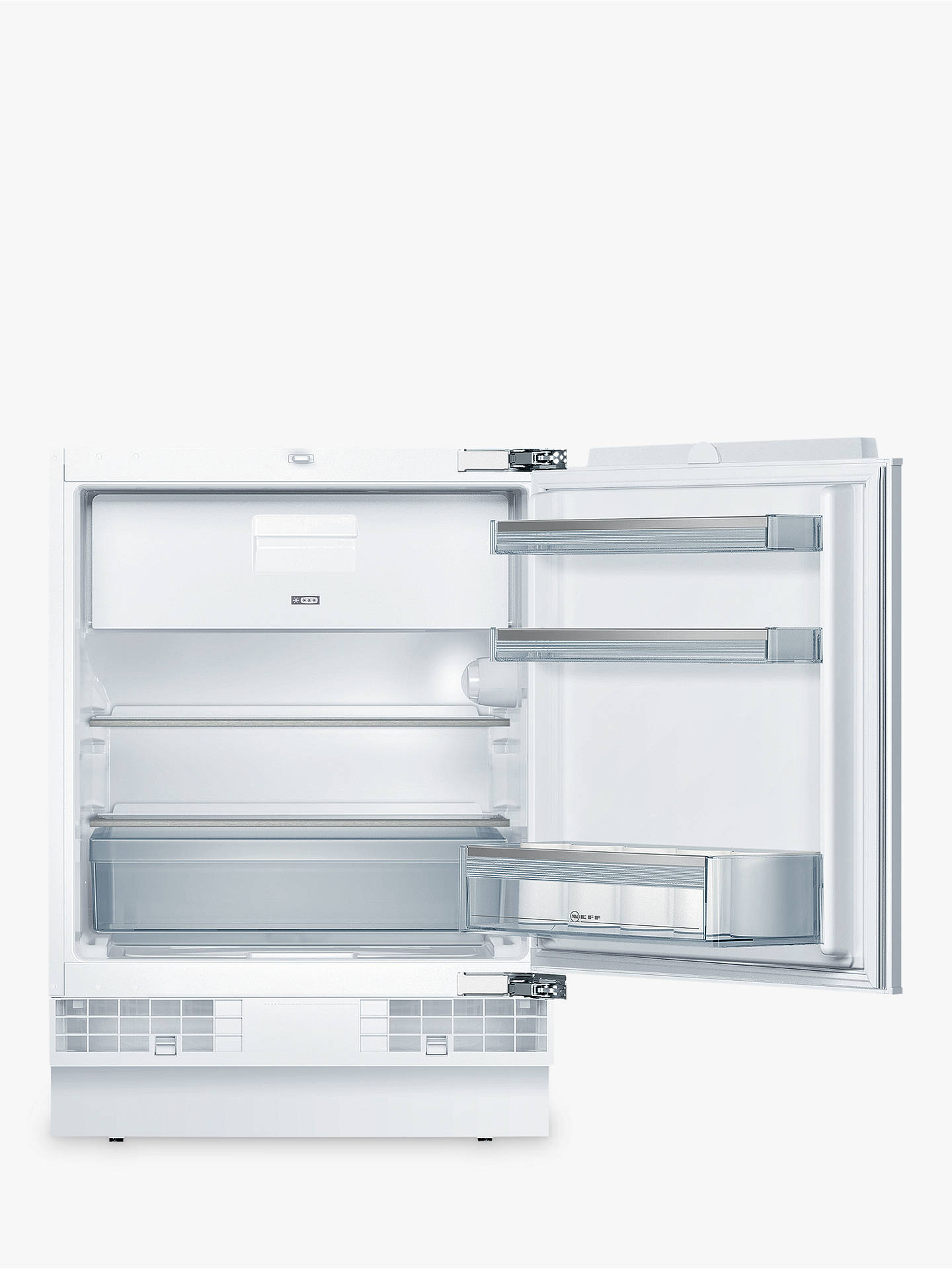 174780b4ccfd Buy Neff K4336X8GB Integrated Undercounter Fridge with Freezer Compartment,  A++ Energy Rating, 60cm Wide ...