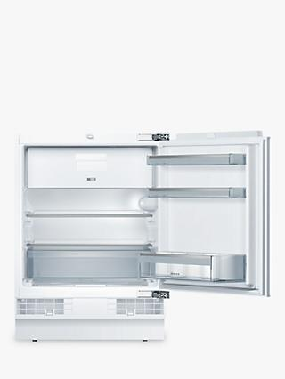 Neff K4336X8GB Integrated Undercounter Fridge with Freezer Compartment, A++ Energy Rating, 60cm Wide