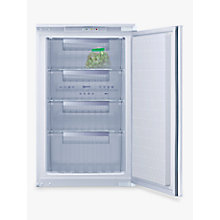 Buy Neff G1524X7GB Integrated Freezer, A+ Energy Rating, 54cm Wide Online at johnlewis.com