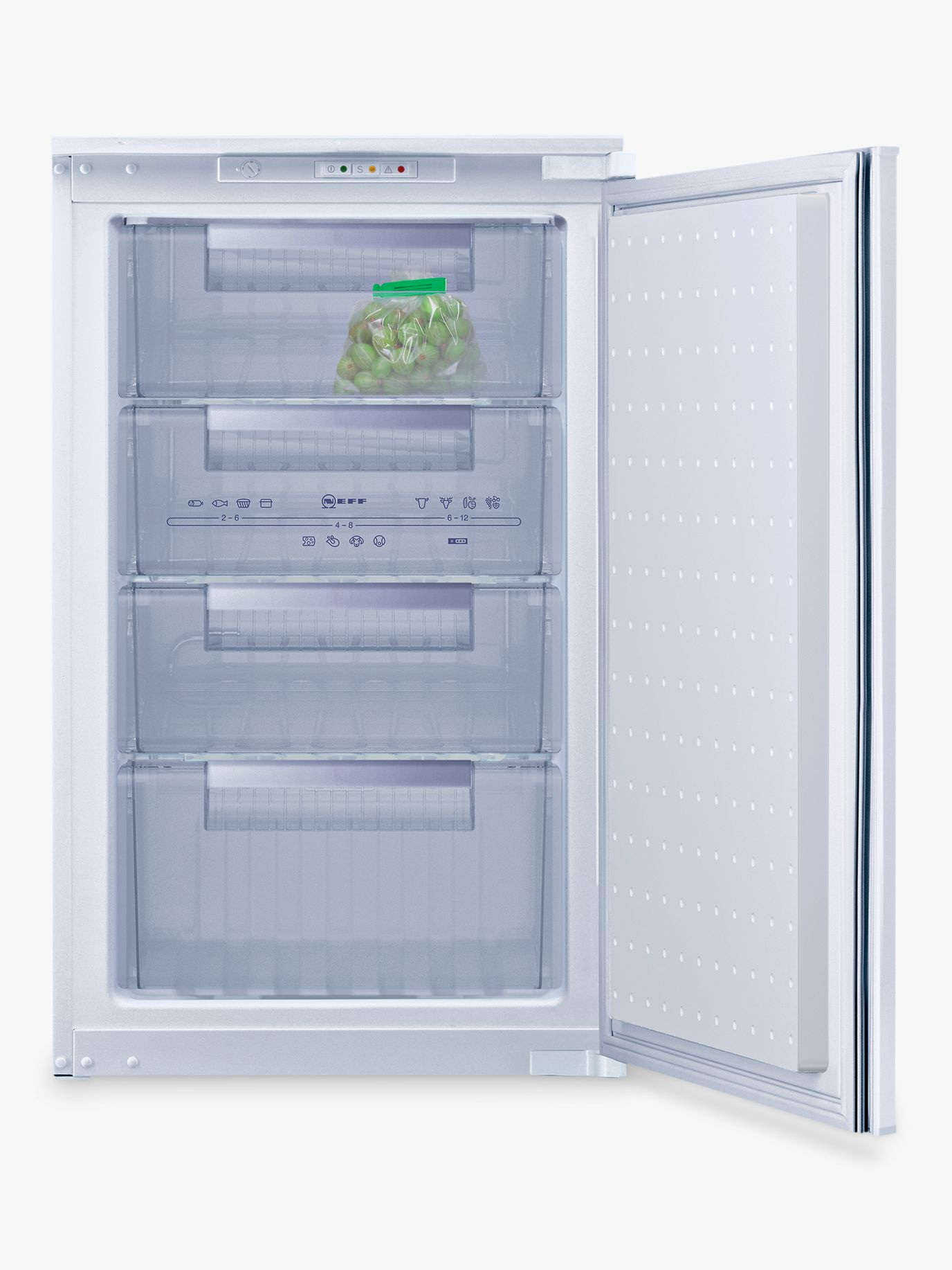 NEFF Neff G1524X7GB Integrated Freezer, A+ Energy Rating, 54cm Wide