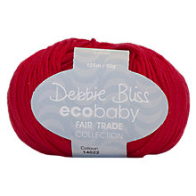 Buy Debbie Bliss Eco Baby 4 Ply Yarn, 50g Online at johnlewis.com