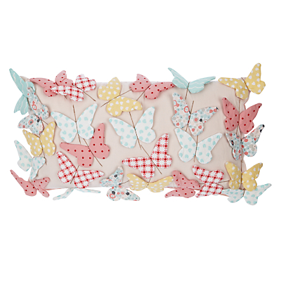 little home at John Lewis Little Fairy Butterflies Cushion