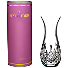 Buy Waterford Lismore Sugar Bud Vase, Clear Online at johnlewis.com