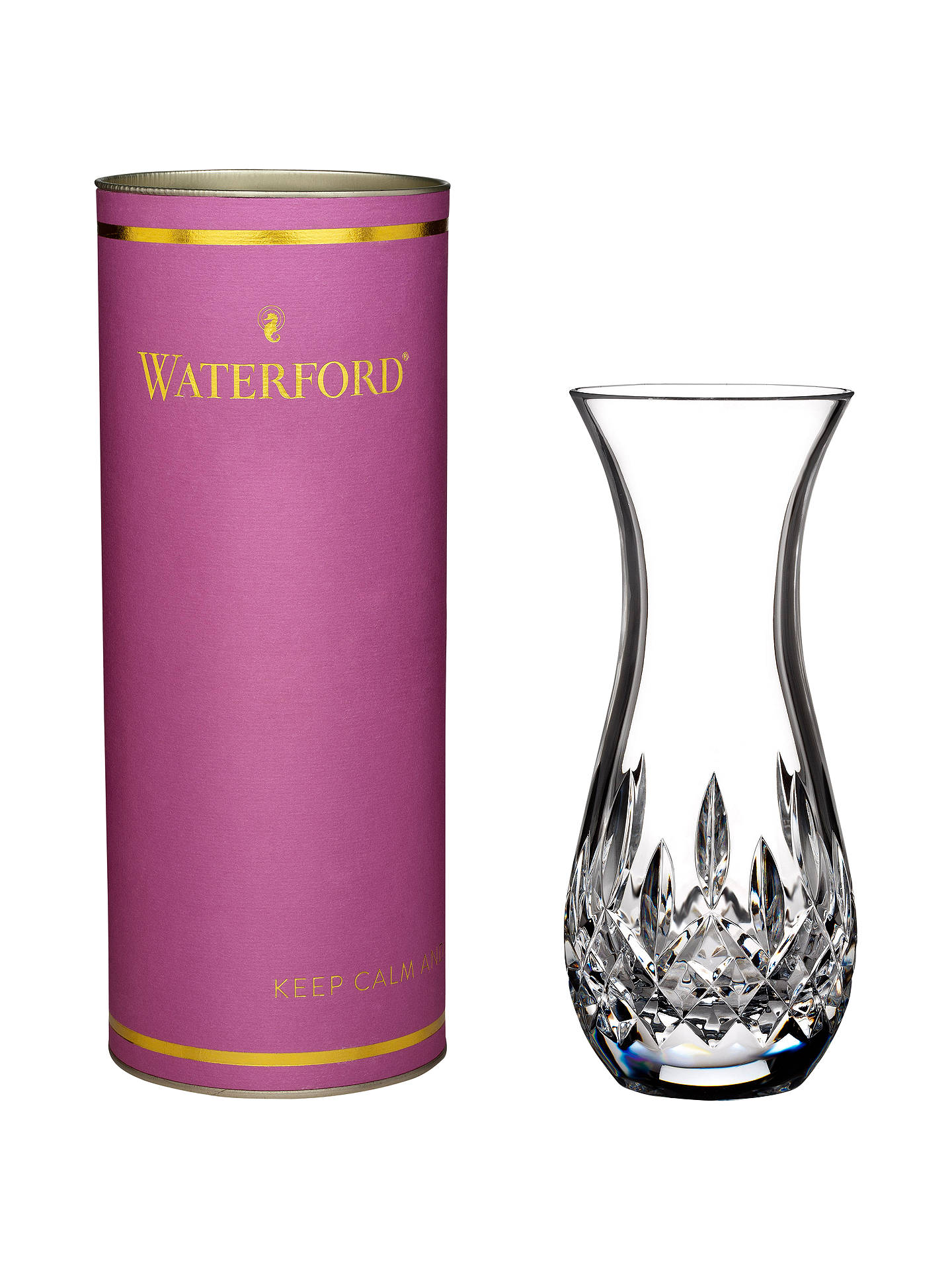 Buy Waterford Giftology Lismore Sugar Bud Vase, Clear Online at johnlewis.com