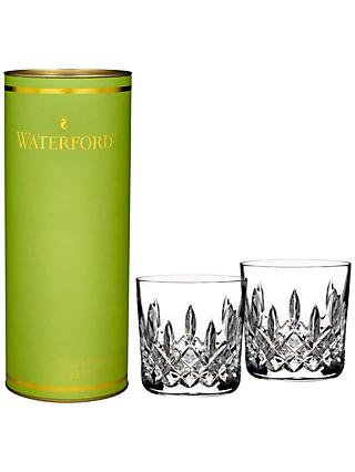 Waterford Giftology Lismore Tumbler, Clear, Set Of 2