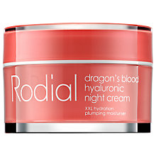 Buy Rodial Dragon's Blood Night Cream, 50ml Online at johnlewis.com
