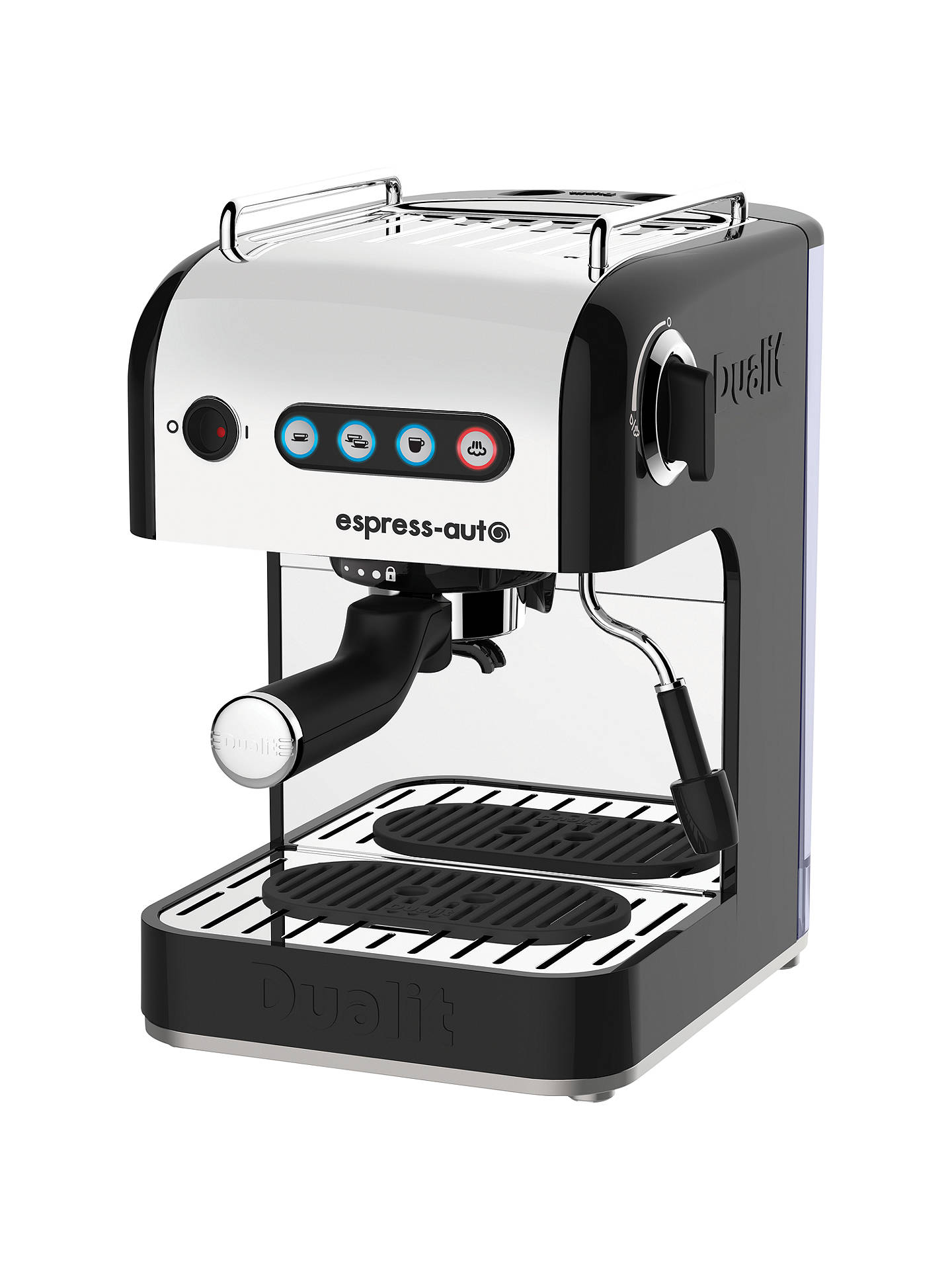 Dualit 84515 Espress Auto 3 In 1 Coffee Machine Black At John Lewis