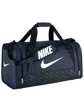 Nike Brasilia 6 Medium Duffle Bag, NavyBlackWhite at John