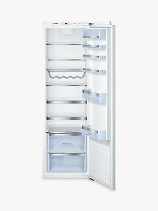 Bosch KIR81AF30G Tall Integrated Larder Fridge, A++ Energy Rating, 56cm Wide