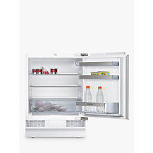 Buy Siemens KU15RA51GB Integrated Undercounter Larder Fridge, A+ Energy Rating, 60cm Wide Online at johnlewis.com
