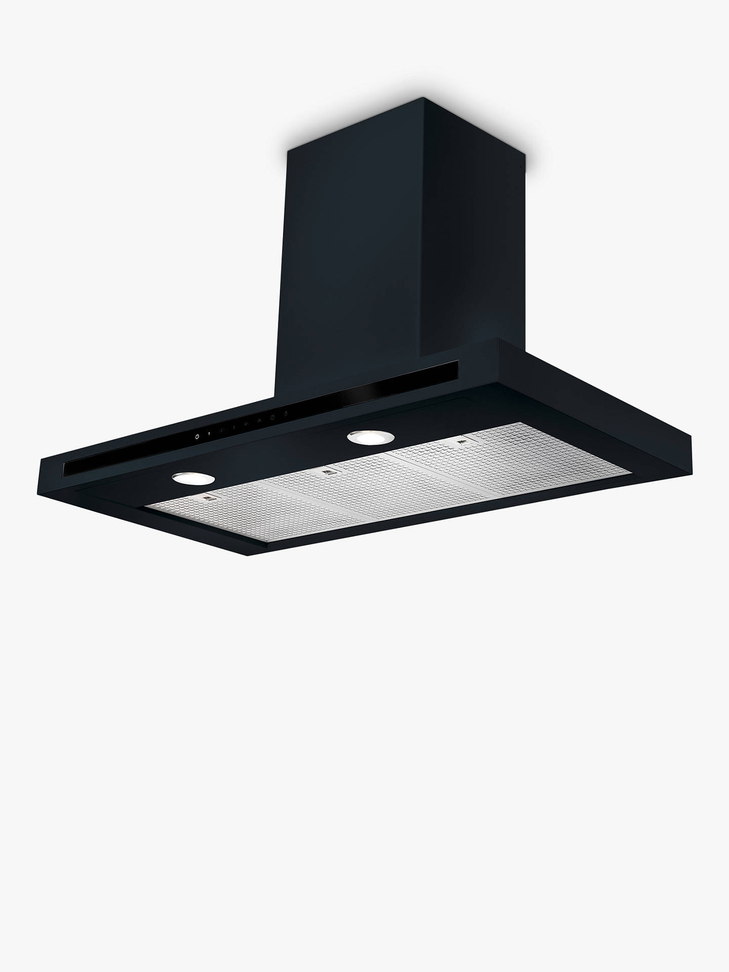 Buy Rangemaster Hi-Lite Chimney Cooker Hood, Black Online at johnlewis.com