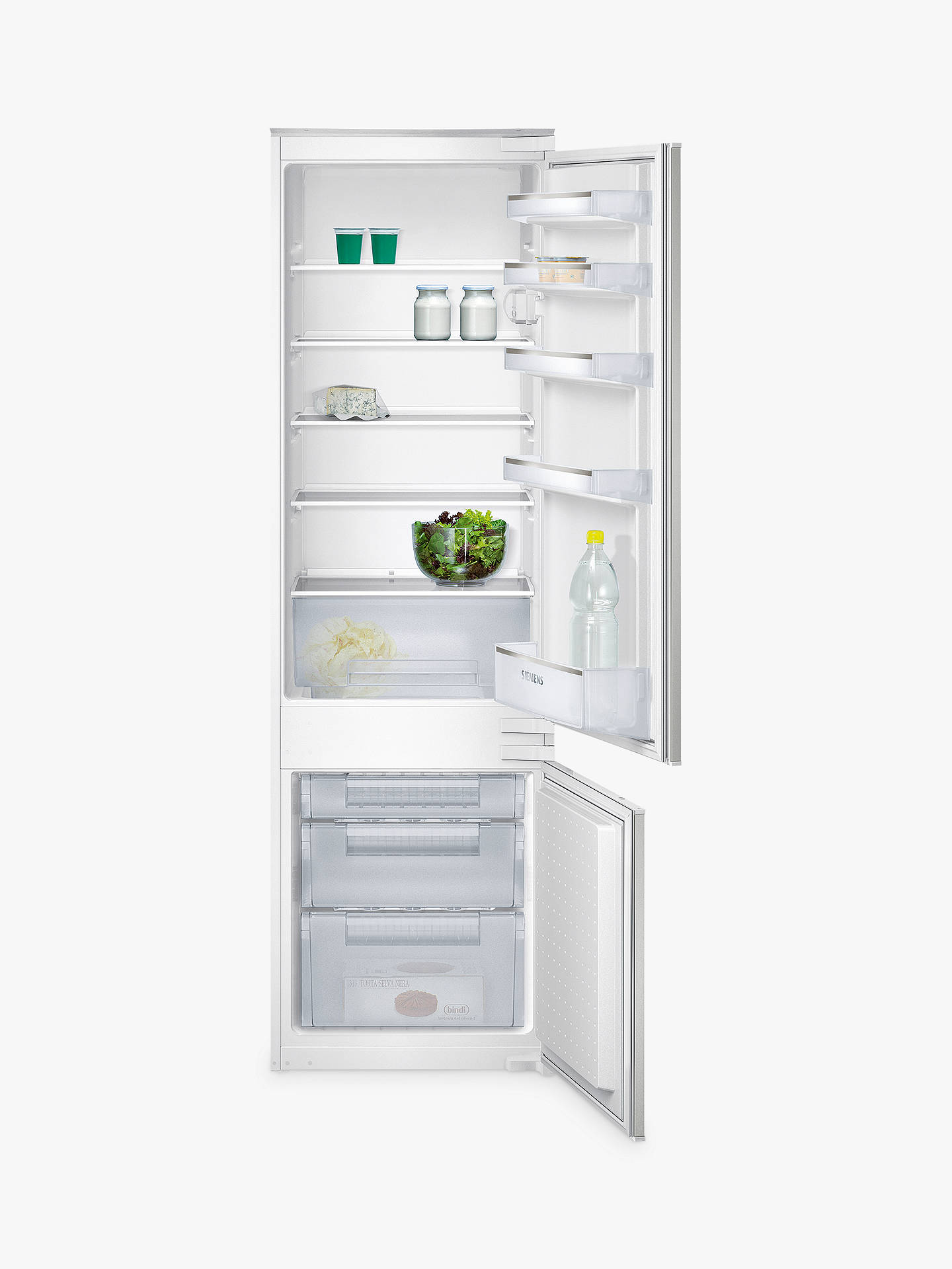 BuySiemens KI38VX22GB Integrated Fridge Freezer, A+ Energy Rating, 54cm Wide Online at johnlewis.com