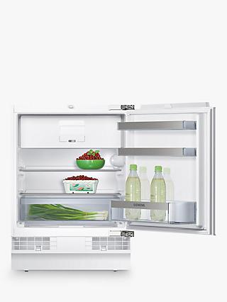 Siemens KU15LA60GB Integrated Undercounter Fridge with Freezer Compartment, A++ Energy Rating, 60cm Wide