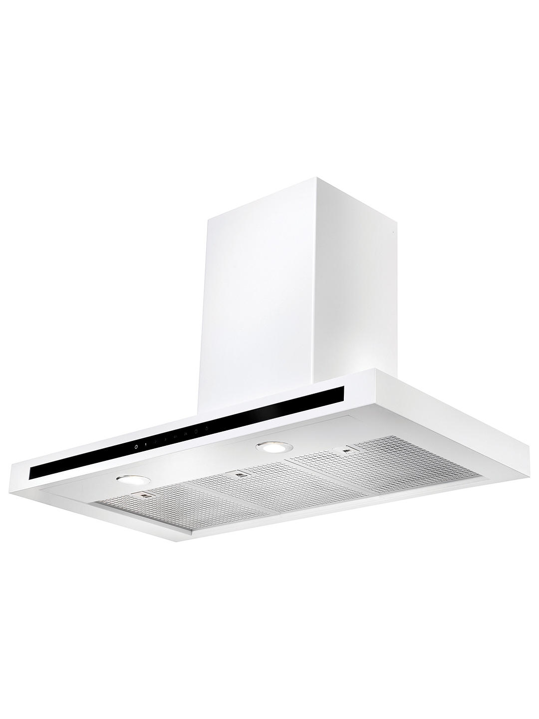 Buy Rangemaster Hi-Lite Chimney Cooker Hood, White Online at johnlewis.com