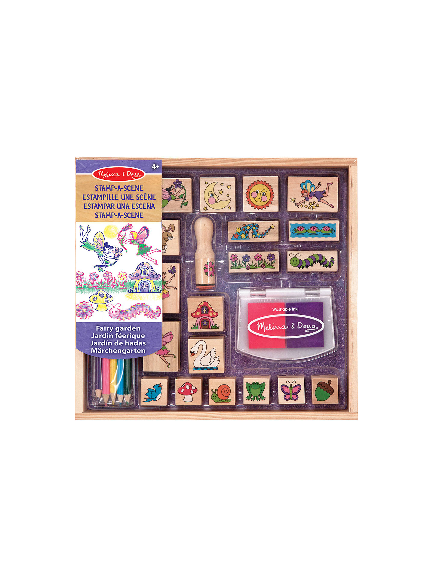 Melissa Doug Fairy Stamp Kit At John Lewis Partners